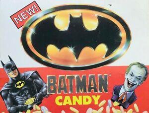 Batman Candy Jack Nicholson MIchael Keaton Fruit Snacks Danny DeVito 8 cups