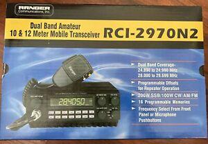Ranger RCI-2970N2 DX AM-FM-SSB-CW Meter Mobile Radio
