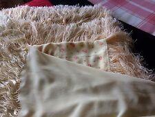 2 X Piano Chal/Bufanda De Seda Vintage/mantel con Borla Flecos