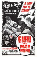"Guru the Mad Monk Movie Poster  Replica 13x19"" Photo Print"