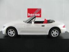 Herpa 101042 BMW Z3 Roadster (1995-1999) in perlmuttweiß 1:87/H0 NEU/OVP/PC