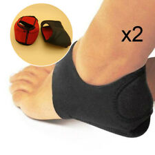 A Pair Plantar Fasciitis Therapy Wrap Socks Arch Support Heel Foot Pain Relief