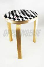 NEW SUPREME ARTEK AALTO CHECKERBOARD STOOL 60 SS17 world famous new york chair