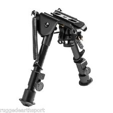 "Tactical Precision Quality Compact Bipod 5.5""-8"" + 3 Mounts for any Rifle ABPGC"