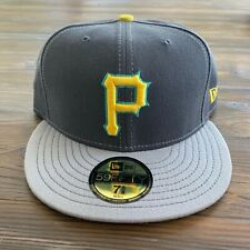 RARE Vintage MLB New Era Pittsburgh Pirates 59Fifty Fitted Hat Exclusive Colors