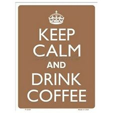 Parking Sign - Keep Calm And Drink Coffee Wall Art Home Decor Picture Gift