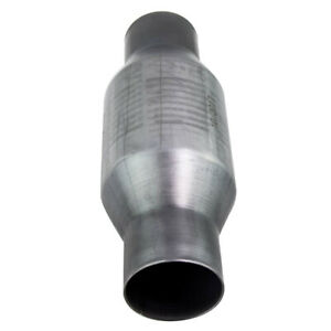 """410250 2.5"""" Inlet Outlet for VW Polo Stainless Catalytic Converter 4"""" Round"""