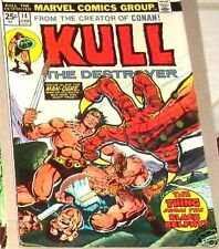 KULL THE DESTROYER 14 CONQUERER CONAN 1ST SERIES MARVEL F
