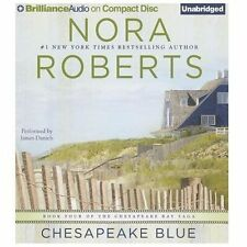 CHESAPEAKE BLUE unabridged audio book on CD by NORA ROBERTS
