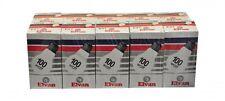 Elvan Bombilla Incandescente Lámpara E27 100 Vatios 10 (1x10 Unidad) Luz nuevo