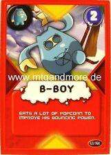 Gogo Crazy Bones TCG - 1x B-Boy  #043