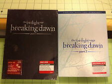 Breaking Dawn 1 & 2 Collectible Target Exclusive DVD Sets Plus 5 Mini Posters
