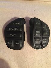 FORD EXPLORER LINCOLN TOWN CAR  CRUISE CONTROL RADIO STEERING WHEEL SWITCH SET