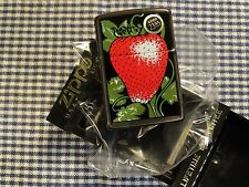 VINTAGE ZIPPO STRAWBERRY LIGHTER 1995