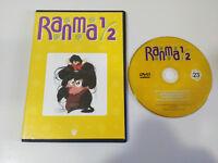 RANMA 1/2 MANGA EPISODIOS 89-92 SPANISH EDITION DVD VOLUMEN 23 - 200 MINUTOS