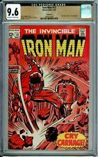 IRON MAN 13 CGC 9.6 NORTHLAND copy RARE HG Nick Fury SILVER AGE Marvel 1969