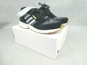 adidas ZX 8000 Bape Undefeated Black Trainers Size UK 11.5 New in Original Box