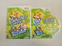 Zhu Zhu Pets: Featuring the Wild Bunch - Nintendo Wii Game - Complete & Tested
