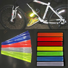 Reflective Bike Wheel Rim Stickers Safety Bicycle Cycling Reflector Tape Band