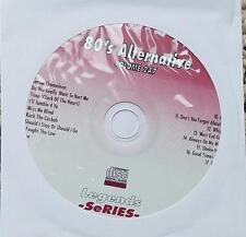 LEGENDS KARAOKE CDG 1980'S ALTERNATIVE 247 - CULTURE CLUB,CARS,DEVO 17 SONGS