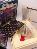 Vintage Clue VCR Mystery Game Parker Brothers 1985 Complete VHS Board Game Gift