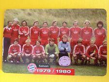 M08/2003 Auflage 2000 Stück Fussball FC Bayern Deutsche Meisterschaft 1979/1980