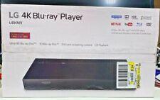 LG 4K Blu-Ray-DVD Player Streaming Ultra HD Audio Dolby Wired / Wireless / USB