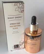 THE HERO PROJECT Night Drops Stress Less Age Defying Elixir 30ml BNIB RRP £45.00