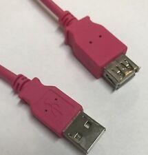 USB 2.0 Hi-Speed Verlängerungskabel 2 m, pink WireThinx