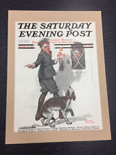 Original Saturday Evening Post cubierta por Norman Rockwell: 19th de junio de 1920