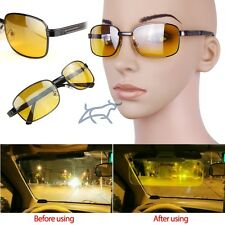 New Men Women Classic Night Vision Driving glasses Eye-glasses Yellow Lens