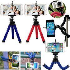 Portátil Mini trípode pulpo coche teléfono celular soporte de cámara