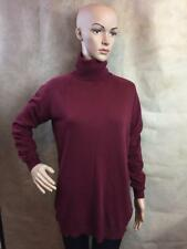 ZARA POLO NECK JUMPER WITH ELBOW PATCHES SIZE SMALL B12 REF: 0367 973