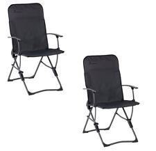 (X2) (PAIR) Isabella Balder Folding Padded Dark Chair - 2018 Model -