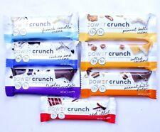 46 Power Crunch Protein Bars Cookies Caramel Peanut Butter Chocolate Vanilla
