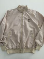 Vintage LA MODE DU GOLF Tropicana Country Club LV Mens Beige Golf Jacket Size M
