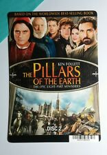 THE PILLARS OF THE EARTH COVER ART MINI POSTER BACKER CARD (NOT a movie)