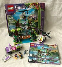 LEGO Friends 41036 Jungle Bridge Rescue 100% Complete w/ Manual and Box