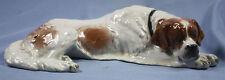 liegender Bernhardiner porzellanfigur hund Rosenthal Diller 1948 US Zone