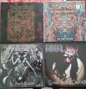 Metal LP Sammlung, Die Apokalyptischen Reiter, Dimmu Borgir, Deicide, Morrigan