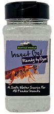 Reptile World Insect Gel 500ml - Shaker Tub - Live Food Care, Bug Gel