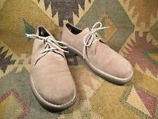 men's Banana Republic Tan Suede shoes Size 11.5 D made in Italy