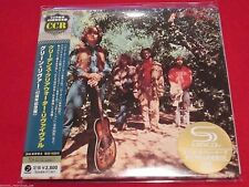 CREEDENCE CLEARWATER REVIVAL - GREEN RIVER - Japan Mini LP SHM - CCR