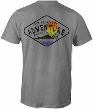 Lpg Apparel Co. Adventure Diamond Surf Surfing Cotton T-Shirt