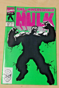 The new incredible Hulk 377 Direct Issue original 1991 copy.
