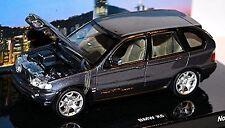 BMW X5 4,4i E53 Flavours of Asia 1999-2003 Titanium Gray Grey Metallic 1:43