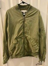 LOGG Label Of Graded Goods Pilot Flight Style Jacket, Green, Size Large