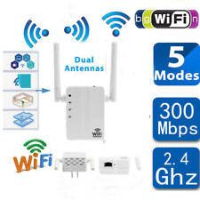 300 Mbps WiFi Signal Range Booster Network Extender Amplifier Internet Repeater