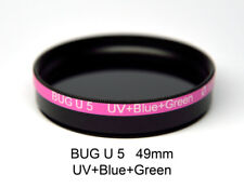 BUG U 5 49mm, UV+Blue/Green Bandpass Mix, Ultraviolet Photography Filter
