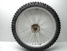 Honda CR250 CR 250 #5058 Aluminum Front Wheel & Tire